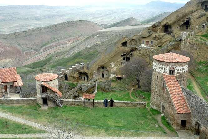 Cuevas de Davit Gareja Georgia)