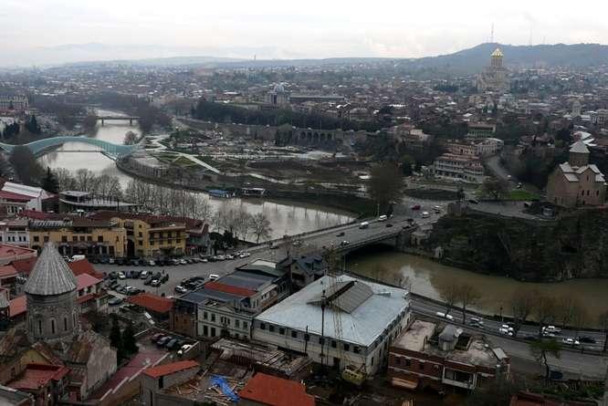 Vista de Tbilisi (Georgia)