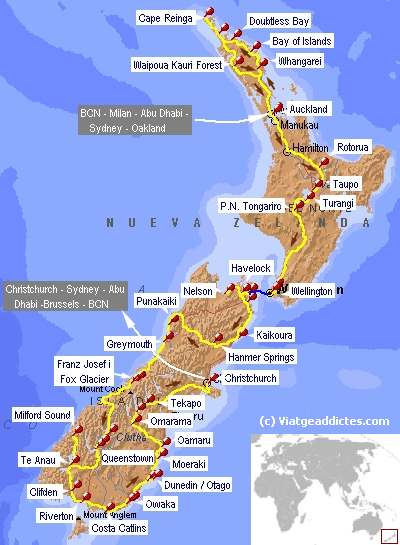 guia viaje turismo autocaravana: