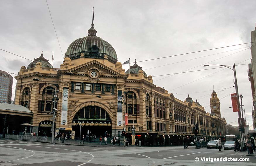 La estación Flinders Street Station (Melbourne)