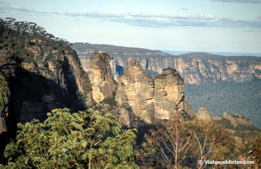 Vista de las Three Sisters (Blue Mountains)