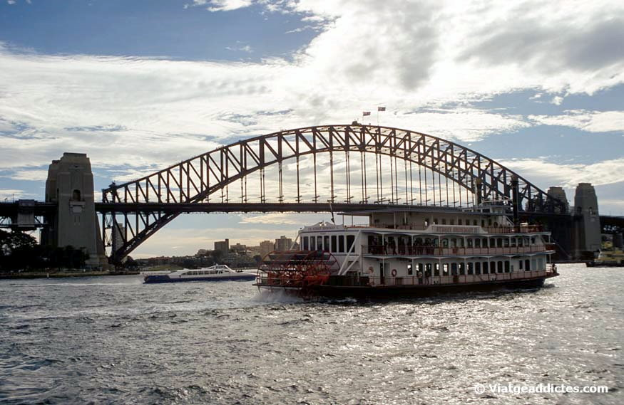Vista del Sydney Harbour Bridge