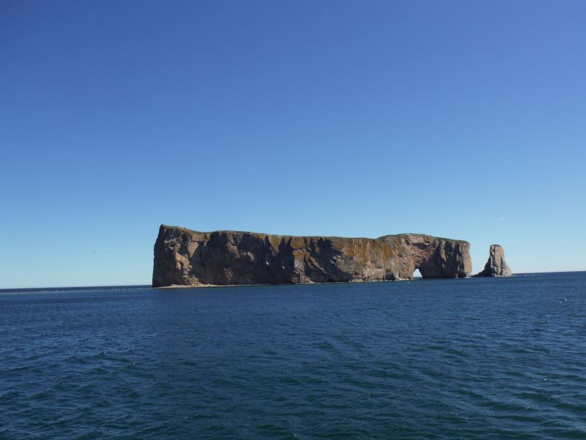 Vista de la Rocher Percé