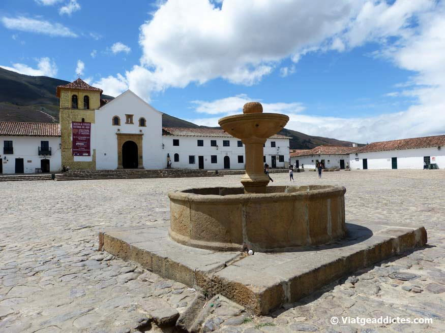 En la Plaza Mayor de Villa de Leyva