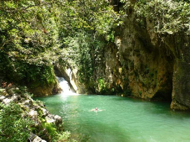 Piscina natural en Tope Collantes