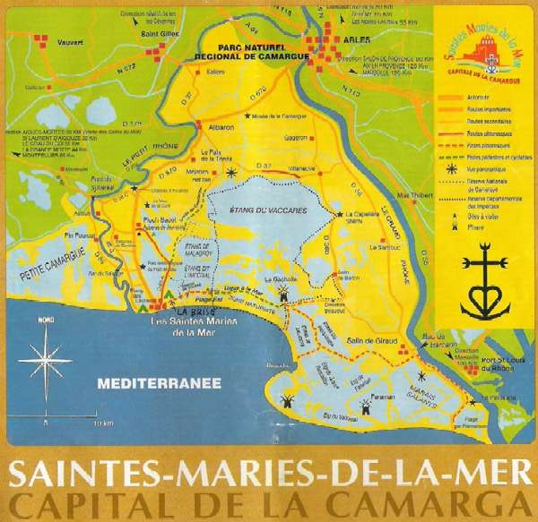 La Camarga Francesa Mapa.Relat D Una Escapada A La Camarga Francesa 2008