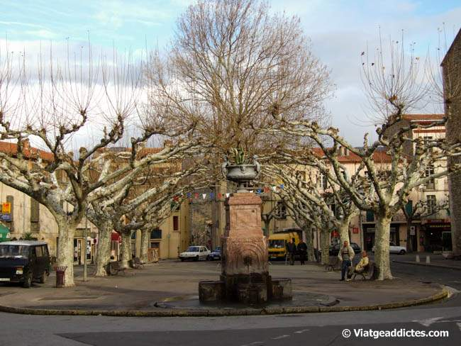 La Place de la Republique (Prades)