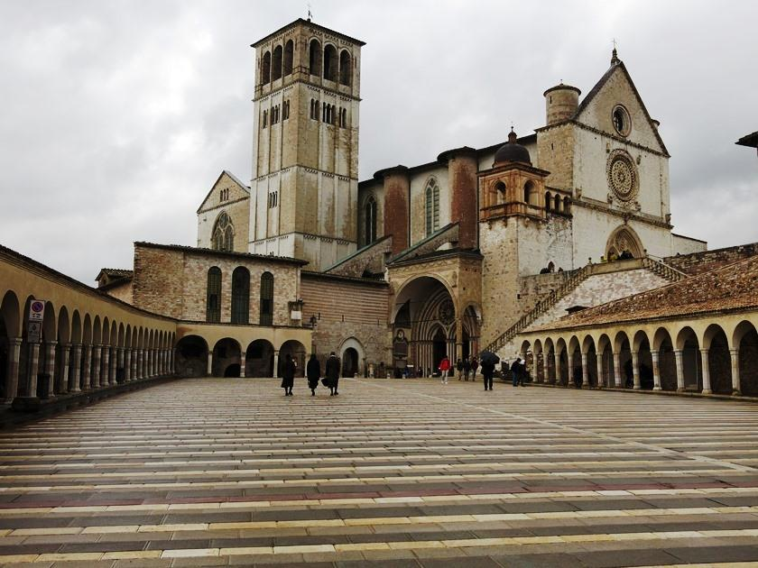 Basílica Papale di San Francesco, Assisi