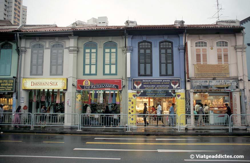 Comerços de Serangoon Rd (Little India - Singapur)