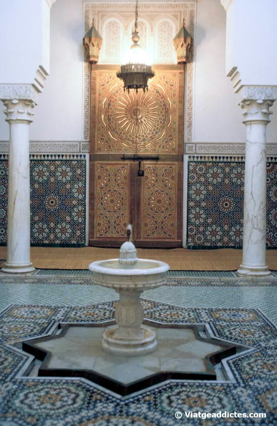 Interior del Mausoleo de Moulay Ismail