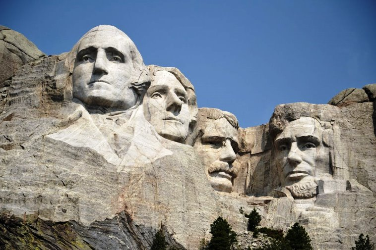 Mount Rushmore National Memorial, Dakota del Sur