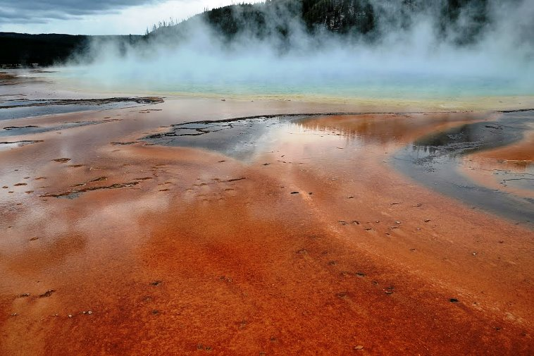 Grand Prismatic Spring, Parc Nacional Yellowstone, Wyoming
