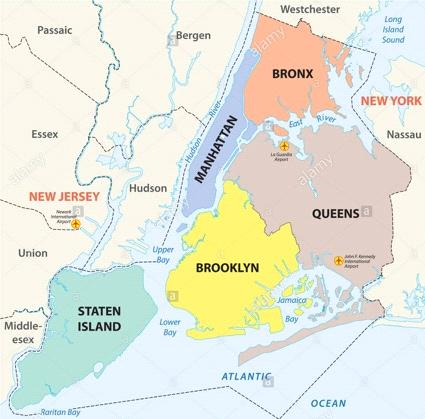 New York boroughs