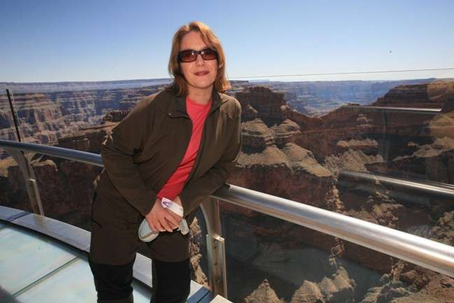 En el «skyline» del Grand Canyon